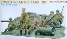 DRAGON 6197 Maquette Infanterie Sovietique sur tank