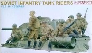 DRAGON 6197 Soviet Infantry Tank Rider