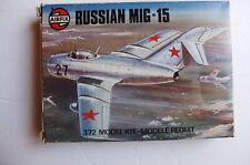AIRFIX RUSSIAN MIG-15 1:72 MODEL KIT 1976