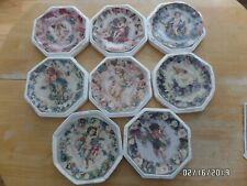 The Hamilton Collection complete set of 8 Love's Messengers Plate Collection