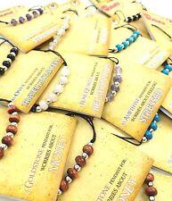 21 x GEMSTONE Amethyst, Rose Quartz etc Necklace Pendants NEW Wholesale Job Lot