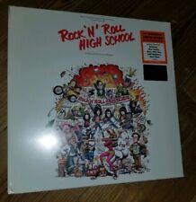 RAMONES LP Rock And Roll High School FIRE COLOURED Vinyl ! Ltd Edn IN STOCK