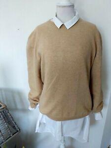 Pullover von Christian  Berg , Größe XL 100% Kaschmir Beige  Guter Zustand .