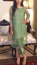 Punjabi Bollywood Designer Indian readymade SALWAR KAMEEZ pakistani pant suit