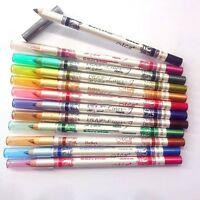 12pcs/set Cosmetic Makeup Eyeliner Eyes Lip Liner Eyebrow Pencil Pen Sets New