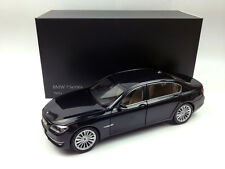 Kyosho 1:18 BMW 7 Series 750Li Black Die-cast Metal Model