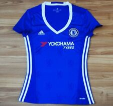 CHELSEA LONDON ENGLAND HOME FOOTBALL SHIRT 2016-2017 WOMENS SIZE S SMALL LADYS