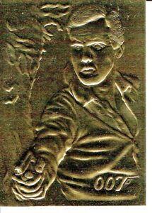 JAMES BOND CONNOISSEURS 2 GOLD CARD G2 BY INKWORKS