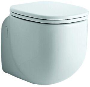 500 by Citterio WC-Sitz, weiß Scharniere verchromt - ohne WC