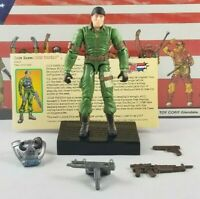 Original 2003 GI JOE CHIEF TORPEDO V1 ARAH Complete UNBROKEN figure 2 Pack