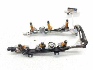 09-20 Nissan 370z G37 Q740 QX70 Fuel Injectors W/ Rail 16600EY00A OEM