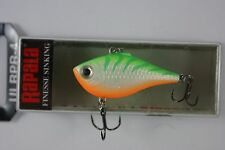 Rapala Ultra Rippin' Rap // ULRPR04GTU // Green Tiger UV 4cm 5g Fishing Lure