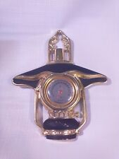Vintage RARE  LANTERN Thermometer Three Star Wall Hanging RARE !!