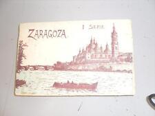 ESPAGNE ZARAGOZA SERIE 1 CARNET DE 20 CARTES POSTALES ANCIENNES