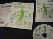 Wii Fit Plus + Game Only Requires Balance Board - FULLY TESTED - NINTENDO Wii