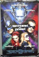 Original 1997 MOVIE POSTER 27x40 BATMAN & ROBIN-CLOONEY & CAST- Rolled (PDP-014)
