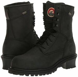 Red Wing Irish Setter 83836 Mesabi Waterproof Boots - Steel Toe - Size 9 1/2