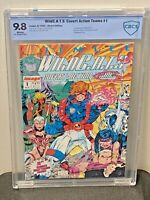 WildC.A.T.S. #1 9.8 NM/MT First Appearance Jim Lee Art 92 Image Comics CGC <CBCS