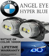 JDM BMW ANGEL EYE E90,E91 HEAD LIGHT HALO RING LED BULBS 10K BLUE FAST SHIPS1118