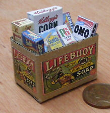 1:12 Scale Full Cardboard Lifebuoy Grocery Box Dolls House Kitchen Accessory
