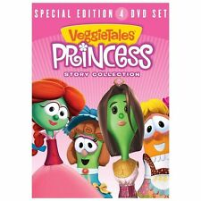 Veggietales: Princess Story Collection...Kids Family DVD, NEW