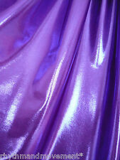 Dance Costume Lycra Fabric Purple Fog/Mystique 50cm - 150cm wide