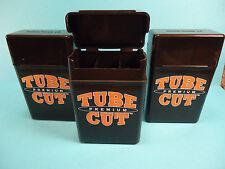 3 Pack of Kings Tube Cut TOP Cigarette Case RYO Cigarette Box Pack Plastic