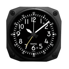 "New TRINTEC  Classic COCKPIT STYLE Travel Alarm Clock  Aviator DM65-2016  3.5"""
