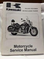 New OEM Kawasaki Service Manual 2009 VN1700 Vulcan Classic Tourer 99924-1414-01