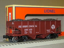 LIONEL PRR SCALE GLA 50 TON TWIN HOPPER 156155 coal 81686 o gauge train 6-81696