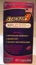 Stacker 3 80ct XPLC Extreme Fat Burner New/Factory Sealed Free Fast Shipping