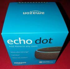 Echo Dot (3rd Gen) - Smart speaker with Alexa - Black  Fabric