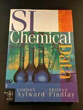 SI Chemical Data 5th Edition by Tristan Findlay, Gordon Aylward Fast Free Post