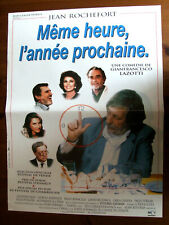 AFFICHE MEME HEURE, L'ANNEE PROCHAINE GIANFRANCESCO LAZOTTI 1995 40X60CM