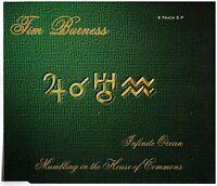 TIM BURNESS Infinite Ocean CD EP (8 Tracks) U.K. Prog Rock – Scarce