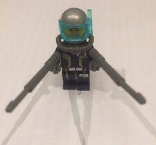 Lego Scuba Diver With Harpoon Guns