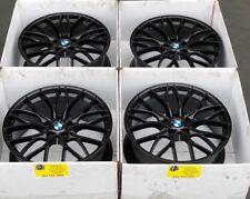 "20 Bmw  F32 F33 F30 335i 340i 328i 440i 430i OEM M 405 20"" Wheels Rims Black"