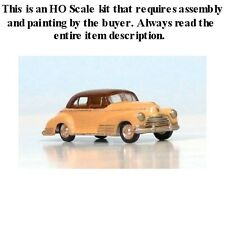 "HO SCALE: 1946 CHEVROLET ""FLEETLINE"" 4 DOOR SEDAN by Sylvan V-120"