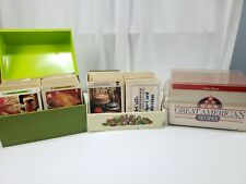 Betty Crocker 1971 -McCalls 1973 -Great American Recipe Card Collection VTG