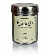 Khadi Herbal Black Henna Hair Color Unique Formulation 150 gram