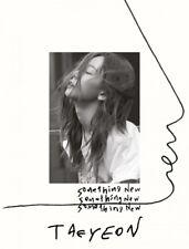 K-POP TAEYEON 3rd Mini Album - [Something New] CD + Photobook + Photocard Sealed