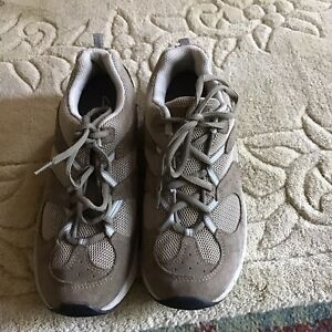 Lovely pair  khaki Clarks Trainers Size 5