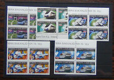 Turkey 2009 Transport & Communications set in block x 4 MNH