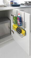 Einhängekorb Allzweckkorb Gewürzregal für Bad Küche Regal ohne Bohren
