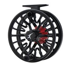 ECHO BRAVO 7/9 LARGE ARBOR DISC DRAG FLY REEL BLACK FOR A 7, 8, OR 9 WT FLY ROD