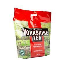 New Taylors of Harrogate Yorkshire Tea Pack of 480 Bags (1.5kg Bag)