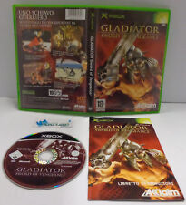 Game Console Microsoft XBOX PAL ITALIANO Activision GLADIATOR Sword of Vengeance