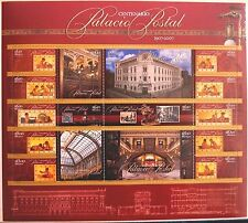 Mexico 2007 Postal Headquarters Building 100th SC 2545 Pane-16 Architecture MNH