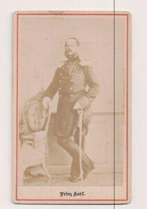 Vintage CDV Prince Charles De Prusse