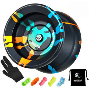New Hot Magic Yoyo Free 5 Pro String + Bag + Glove + User Guide Kid Girl Boy Toy